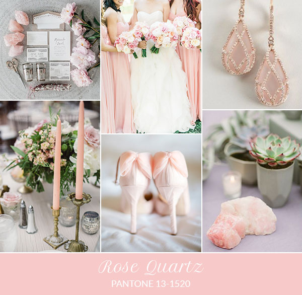 Tema Matrimonio Rosa Quarzo : Colore matrimonio 2016: quarzo rosa my perfect day