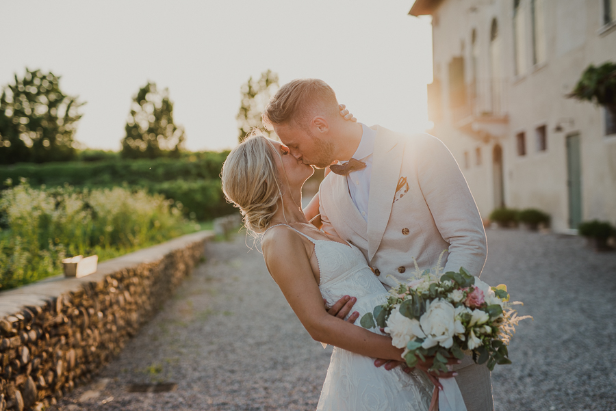 a country-chic weddin on the hills of Verona
